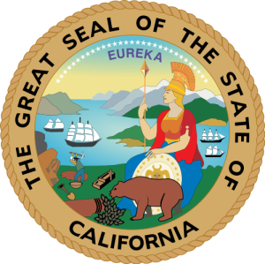Seal of California - Public Domain